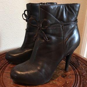 Nine West platform boots